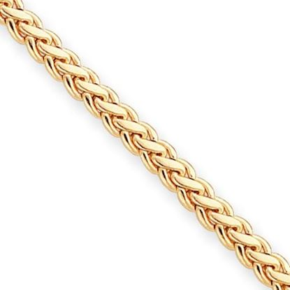 Picture of 7.25 inch Gold-plated Kelly Waters Braided Spiga Chain Bracelet