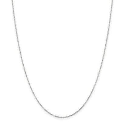 Picture of Sterling Silver 1.25mm Cable Chain Necklace