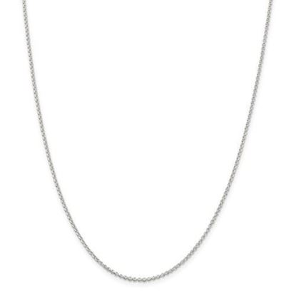 Picture of Sterling Silver 1.5mm Rolo Chain Necklace