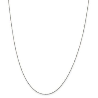 Picture of Sterling Silver 1.00mm Open Link Curb Chain Necklace