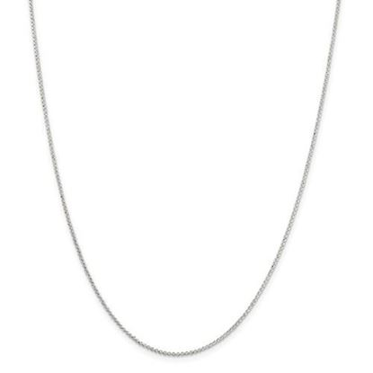Picture of Sterling Silver 1.4 mm Polished Rolo Chain Necklace