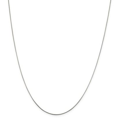 Picture of Sterling Silver .7mm Round Snake Chain Necklace