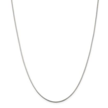 Picture of Sterling Silver 1.2mm Round Snake Chain Necklace