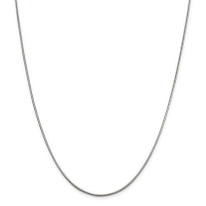 Picture of Sterling Silver 1.5mm Round Snake Chain Necklace