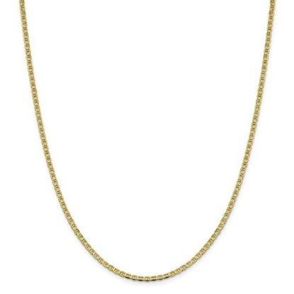 Picture of Leslie's 10k Yellow Gold 2.4mm Flat Anchor Chain Necklace