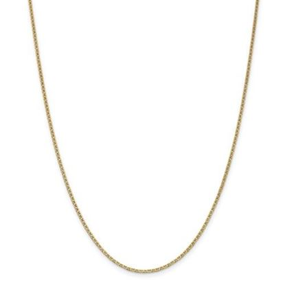 Picture of 14k Yellow Gold 1.5mm Anchor Link Chain Necklace