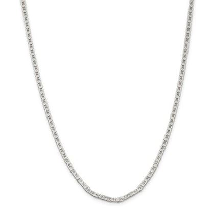 Picture of Sterling Silver 3mm Flat Anchor Chain Necklace