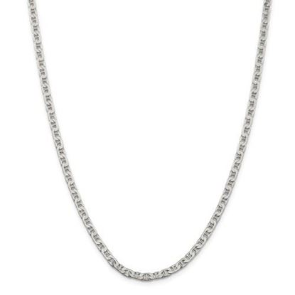 Picture of Sterling Silver 3.75mm Flat Anchor Chain Necklace