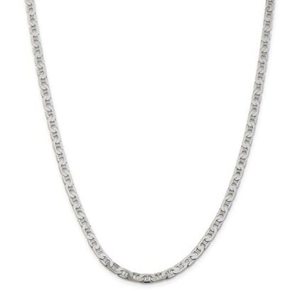 Picture of Sterling Silver 4.5mm Anchor Chain Necklace