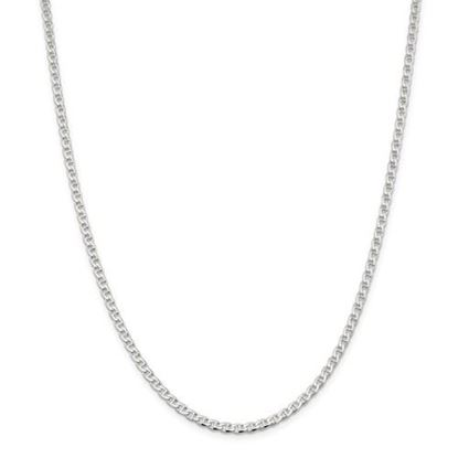 Picture of Sterling Silver 3.15mm Flat Anchor Chain Necklace