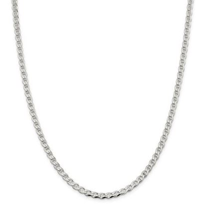 Picture of Sterling Silver 4.15mm Flat Anchor Chain Necklace
