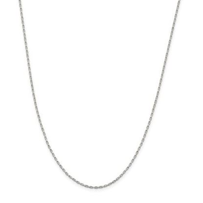 Picture of Sterling Silver 1.3mm Elongated Box Chain Necklace