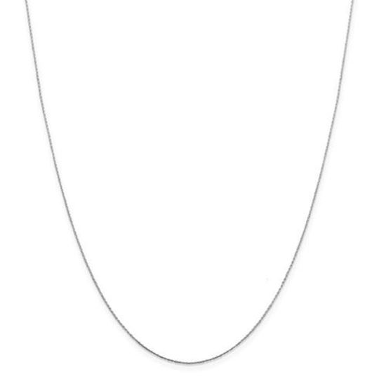 Picture of Sterling Silver .6mm Oval Box Chain Necklace