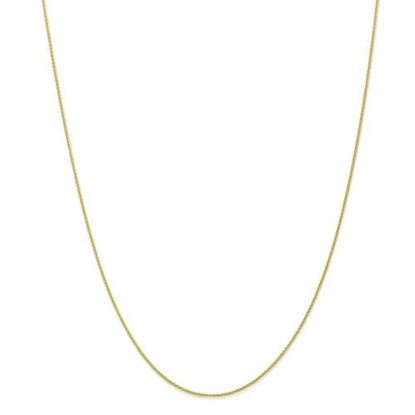 Picture of 10k Yellow Gold .95mm Parisian Wheat Chain Necklace