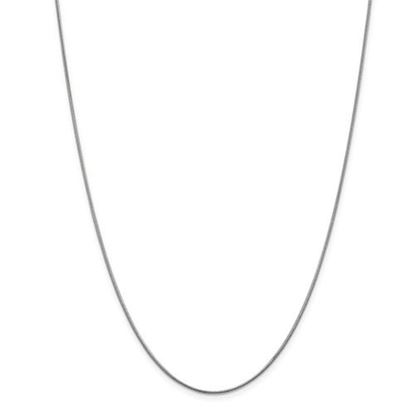 Picture of Leslie's 14k White Gold 1 mm Snake Chain Necklace